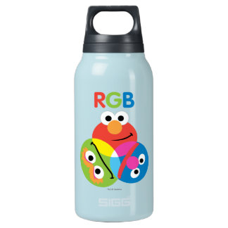 RGB Sesame Street 10 Oz Insulated SIGG Thermos Water Bottle