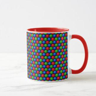 RGB Sphere Pattern Mug