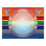 RGB-Spheres 1 Poster