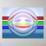 RGB-Spheres 2 Poster