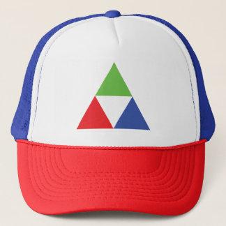 RGB Triangle Designer Web Design Love Trucker Hat