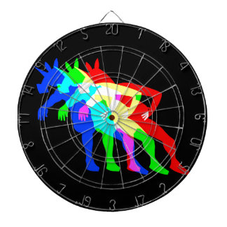 RGB Unicorn V02 Dartboard With Darts