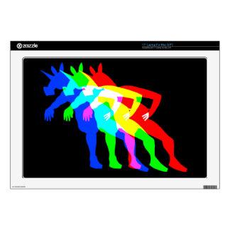 RGB Unicorn V02 Decal For Laptop