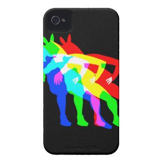 RGB Unicorn V02 iPhone 4 Case-Mate Case