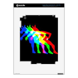 RGB Unicorn V02 Skin For iPad 3