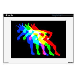 RGB Unicorn V02 Skin For Laptop