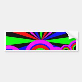 RGB Wallpaper Bumper Sticker