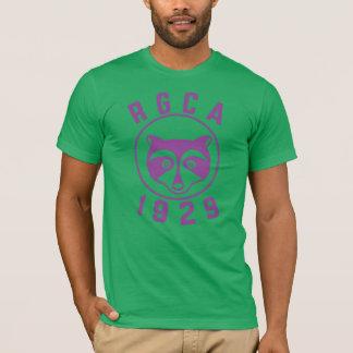 RGCA Men's Basic T-shirt Purple Logo