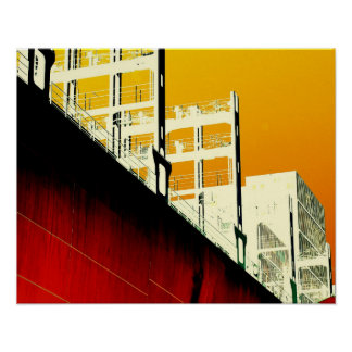 Rge Ship. By Frank Mothe. Denmark. Poster