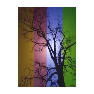 RGYB Tree II Canvas Print
