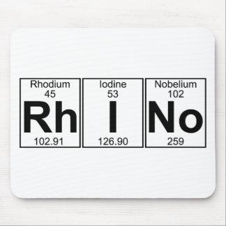 Rh-I-No (rhino) - Full Mouse Pads
