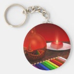 Rhapsodie in Red Key Chains