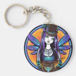 """Rhapsody"" Gothic Absinthe Fairy Art Keychain"