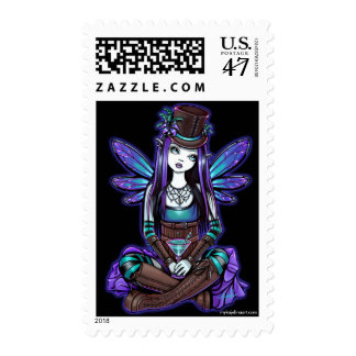 """Rhapsody"" Gothic Absinthe Fairy Art Postage"