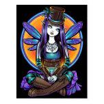"""Rhapsody"" Gothic Absinthe Fairy Art Postcard"