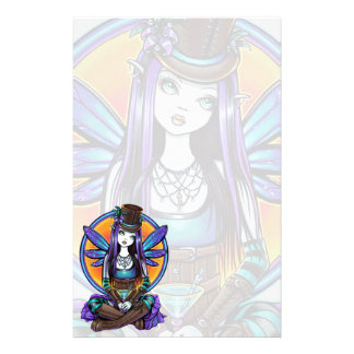"""Rhapsody"" Gothic Absinthe Fairy Art Stationery"