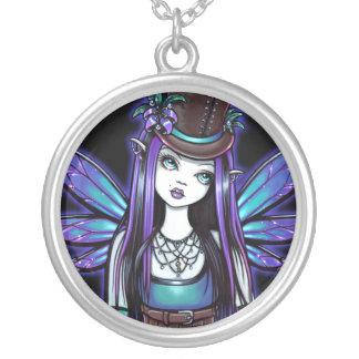"""Rhapsody"" Gothic Steampunk Fairy Art Necklace"