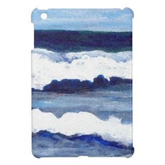 Rhapsody in Blue CricketDiane Ocean Waves Art iPad Mini Covers