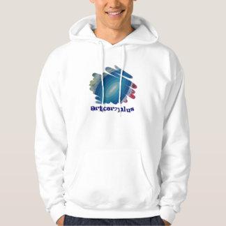 Rhapsody in  Blue Men Light Hoodie Sweatshirt