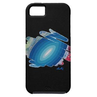 Rhapsody in Blue on Black iPhone5 Vibe Case