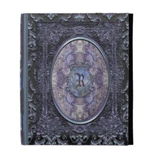 Rhayes Calliger Vintage Old Book Style iPad Folio Case