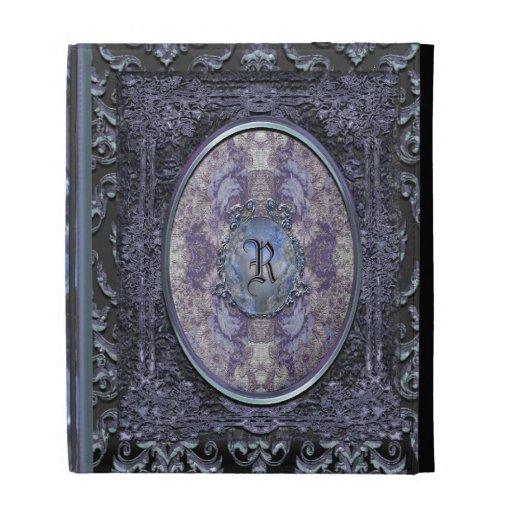 Rhayes Calliger Vintage Old Book Style iPad Folio Cases