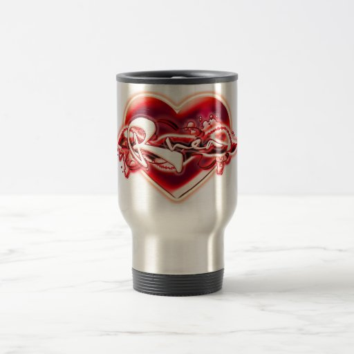 Rhea 15 Oz Stainless Steel Travel Mug