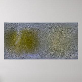 Rhea Map Print