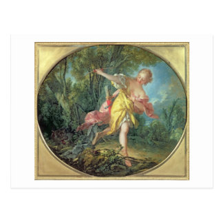 Rhea Sylvia fleeing from the Wolf, 1756 Post Cards