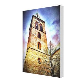 "Rheda-Wiedenbruck Church 12"" x 12"", 1.5"", Single Canvas Print"