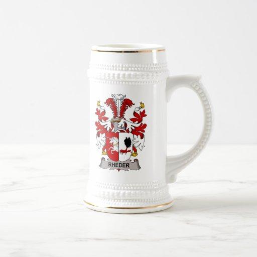Rheder Family Crest Mug