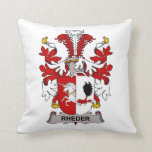 Rheder Family Crest Pillow