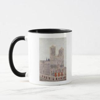 Rheims Cathedral, c.1923 Mug