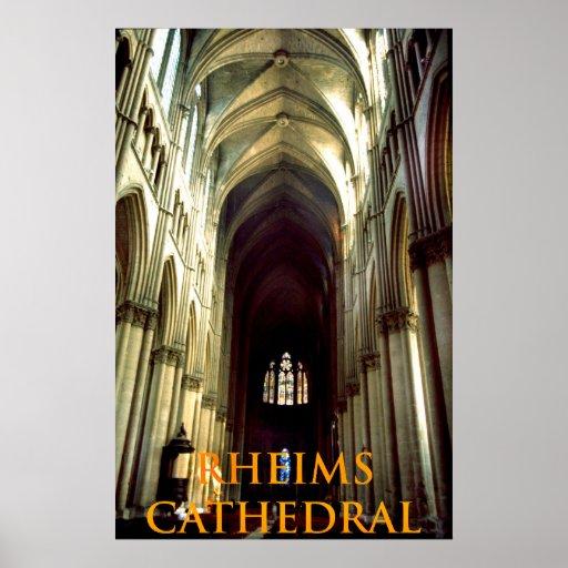 rheims cathedral print