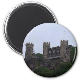 Rhein Castle 2 Inch Round Magnet