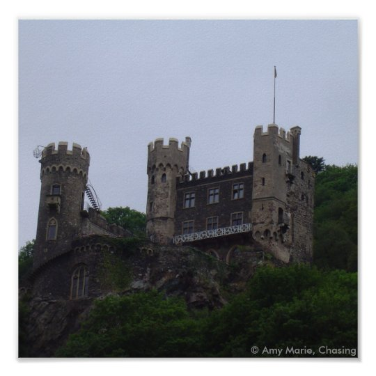 Rhein Castle Poster