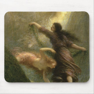 Rheingold, first scene, 1888 mouse pad