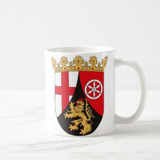 Rheinland Pfalz Coat of Arms Mug