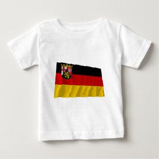 Rheinland-Pfalz Flag Baby T-Shirt