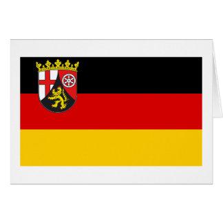 Rheinland-Pfalz Flag Card