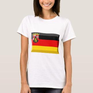 Rheinland-Pfalz Flag Gem T-Shirt