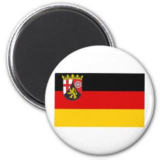 Rheinland-Pfalz Flag Fridge Magnet