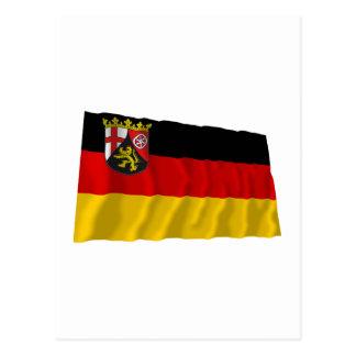 Rheinland-Pfalz Flag Postcard