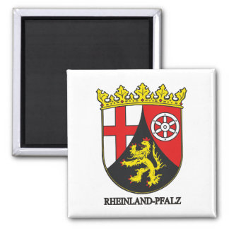 Rheinland-Pfalz (Rhineland-Palatinate) COA Fridge Magnet