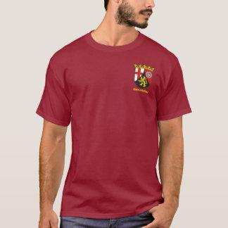 Rheinland-Pfalz (Rhineland-Palatinate) COA T-Shirt