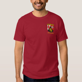 Rheinland-Pfalz (Rhineland-Palatinate) COA T Shirts