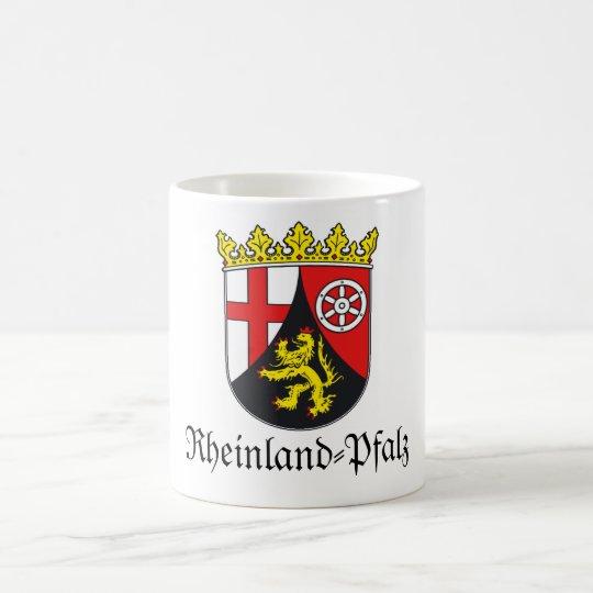 Rheinland-Pfalz Wappen Coat of Arms Coffee Mug