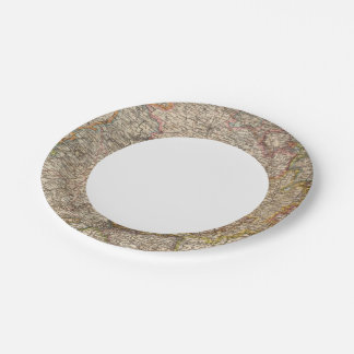 Rhenish Prussia, Westphalia, HesseNassau Paper Plate