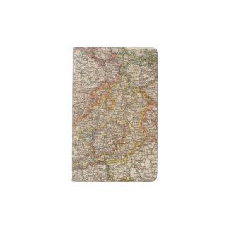 Rhenish Prussia, Westphalia, HesseNassau Pocket Moleskine Notebook