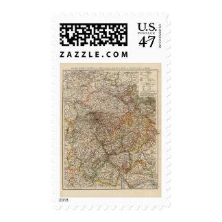 Rhenish Prussia, Westphalia, HesseNassau Postage